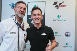 Pol Espargaro, Red Bull KTM Factory Racing, Dr Angel Charte, MotoGP Tıbbi Direktörü
