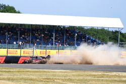 Crash of Brendon Hartley, Scuderia Toro Rosso STR13