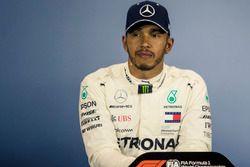 Lewis Hamilton, Mercedes-AMG F1 in de persconferentie