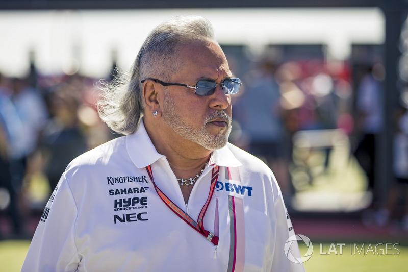 Dr. Vijay Mallya, Force India sahibi