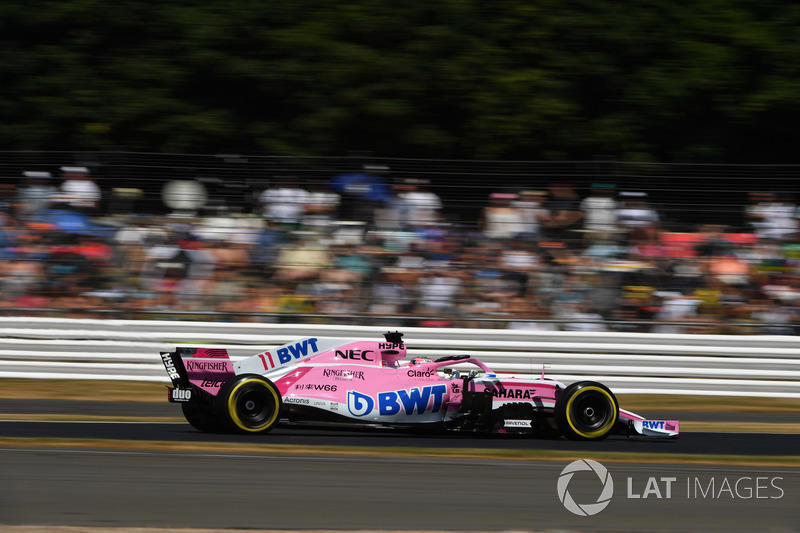 Sergio Perez, Force India VJM11