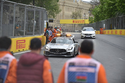 Safety car and marshals