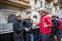 Сантино Ферруччи, Trident, Джек Эйткен, ART Grand Prix, и Шон Гелаэль, Pertamina Prema Theodore Racing