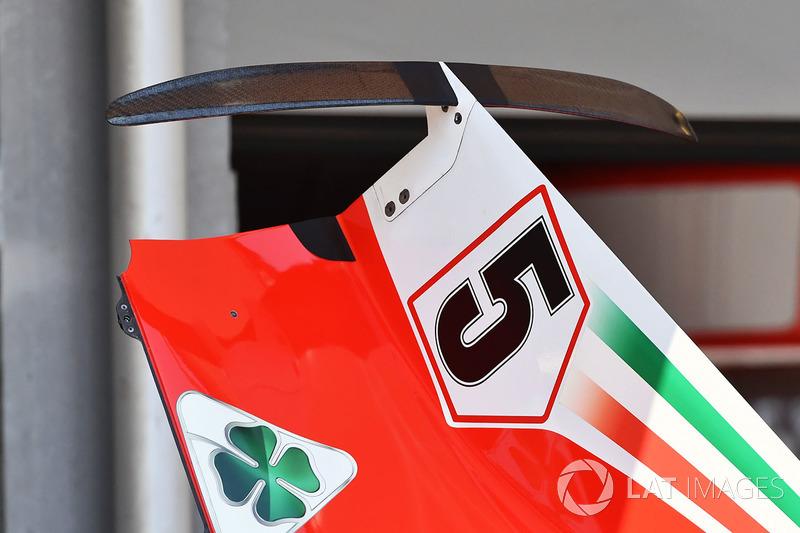 Ferrari SF71H karoser detay