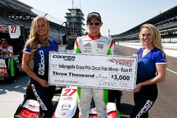 Ganador de la pole Patricio O'Ward, Andretti Autosport