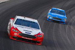 Ryan Blaney, Team Penske, Ford Fusion REV Group e Matt Kenseth, Roush Fenway Racing, Ford Fusion Wyndham Rewards