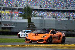 #71 MP1A Lamborghini Gallardo GT3, Sergio Lagana, Marcello Santana, and William Freire, Auto + Racing