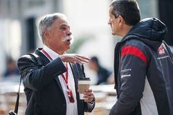 Chase Carey, Chief Executive Officer and Executive Chairman of the Formula One Group and Guenther St