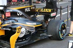Renault Sport F1 Team RS17, rear