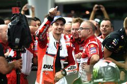 second place Jorge Lorenzo, Ducati Team