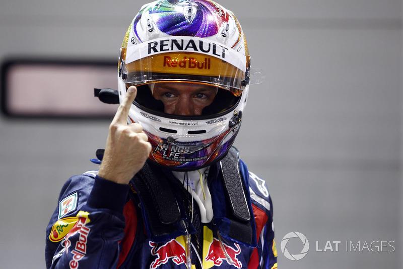 Cingapura - Sebastian Vettel - 4 conquistas