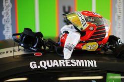 Il casco di Gianmarco Quaresmini, Dinamic Motorsport