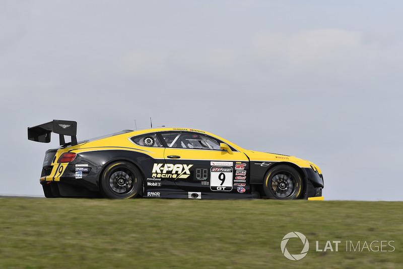 K-PAX Racing Bentley Continental GT3: Alvaro Parente, Andy Soucek