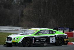 #7 Team Parker Racing Bentley Continental GT3: Ian Loggie, Callum Macleod