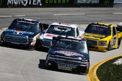John Hunter Nemechek, NEMCO Motorsports, Chevrolet Silverado, Todd Gilliland, Kyle Busch Motorsports