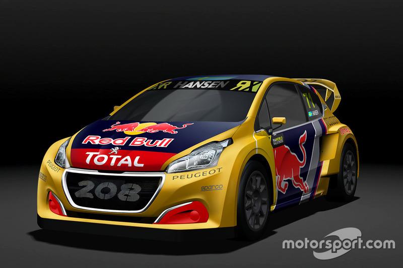 Kevin Hansen, Team Peugeot Hansen, Peugeot 208 WRX