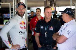 Mark Harland, Executive Director, Marketing, Shane van Gisbergen, Triple Eight Race Engineering Hold