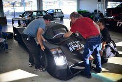Crews work on their FP2 prototype