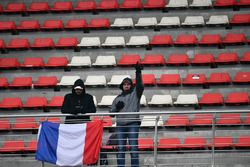 Fans with French flag