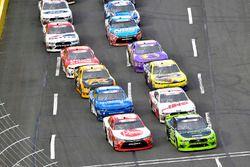 Christopher Bell, Joe Gibbs Racing, Toyota Camry Rheem and Brad Keselowski, Team Penske, Ford Mustang Fitzgerald Glider Kits