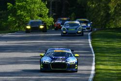 #23 Caseit Racing by Flying Lizard Motorsports Audi R8 LMS GT4: Adam Merzon, Ryan Eversley