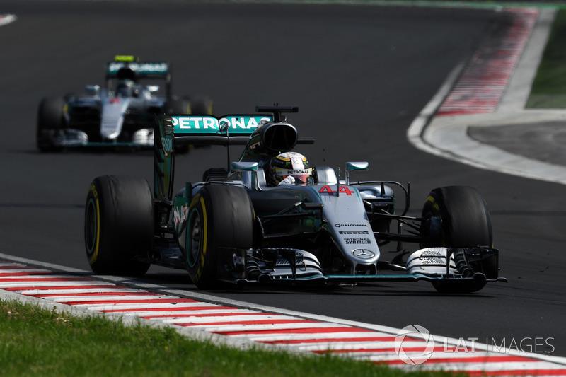 Lewis Hamilton, Mercedes-Benz F1 W07 Hybrid y Nico Rosberg, Mercedes-Benz F1 W07 Hybrid