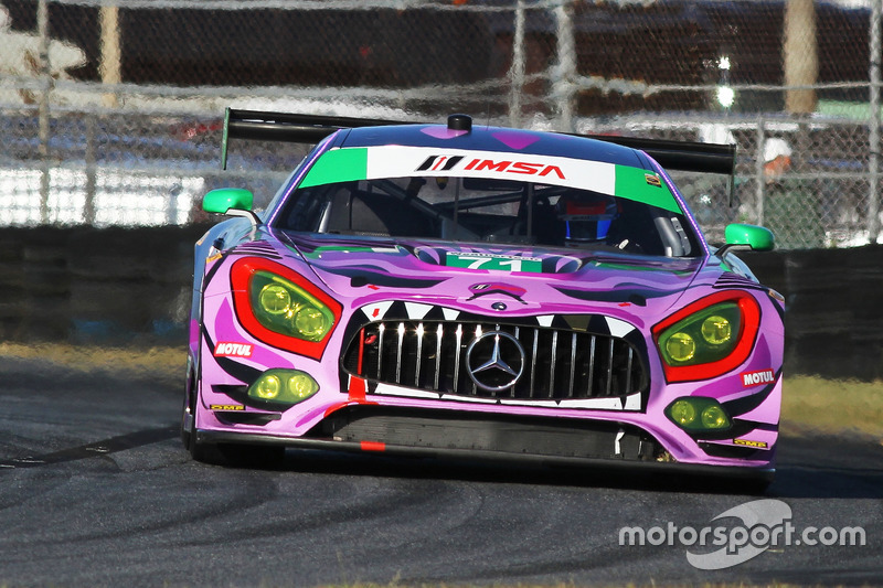 49.- #71 P1 Motorsports Mercedes AMG GT3 (GTD): Kenton Koch, Robert Foley III, Juan Perez, Loris Spinelli