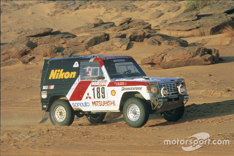 1985: Patrick Zaniroli, Jean Da Silva, Mitsubishi Pajero