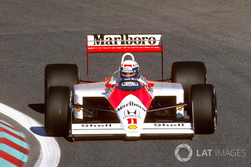 12. 1988 – Ален Прост, McLaren (72,9%)