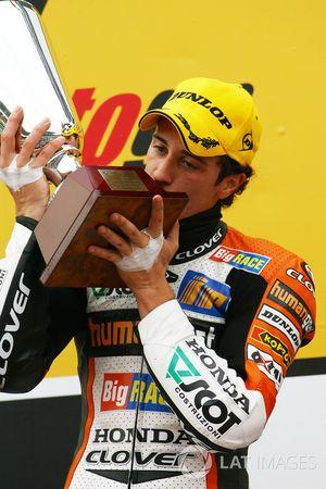 Podium: Andrea Dovizioso, Honda