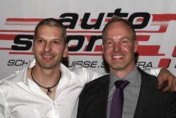 Eric Berguerand und Marcel Steiner bei der ASS-Preisverleihung in Bern
