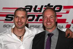 Eric Berguerand et Marcel Steiner à la cérémonie de remise du prix ASS à Berne