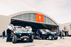 Le bivouac X-Raid Team Mini