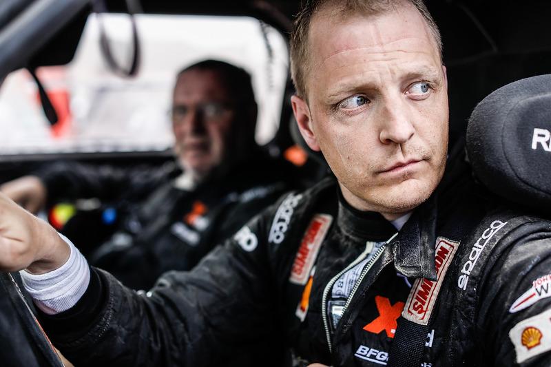 Микко Хирвонен и Андреас Шульц, X-Raid Team, MINI John Cooper Works Buggy (№305)