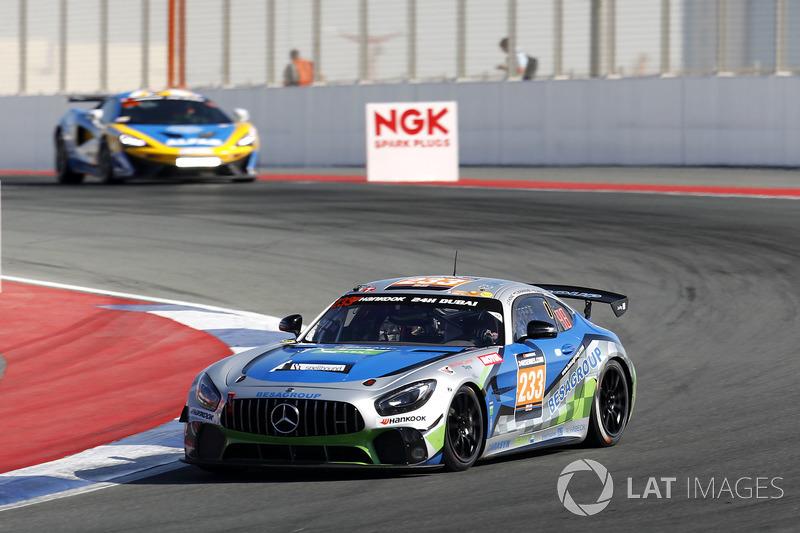 #233 Besagroup Racing Mercedes-AMG GT R SP-X: Franjo Kovac, Cora Schumacher, Roland Asch, Sebastian