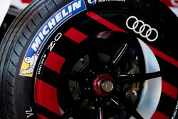 Michelin tyre on the car of Daniel Abt, Audi Sport ABT Schaeffler