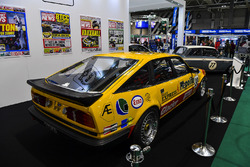 A Rover SD1 Vitesse BTCC car on display