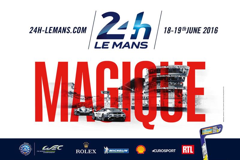Poster de las 24 Horas de Le Mans 2016