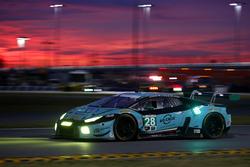#28 康拉德车队 兰博基尼Huracan GT3:拉尔夫·伊内钦、兰斯·威尔斯、弗朗茨·康拉德、法比奥·巴比尼、马克·巴森格