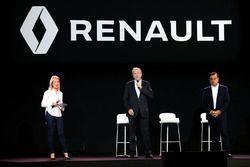 Jerome Stoll, Renault Sport F1 team president en Carlos Ghosn, Renault President