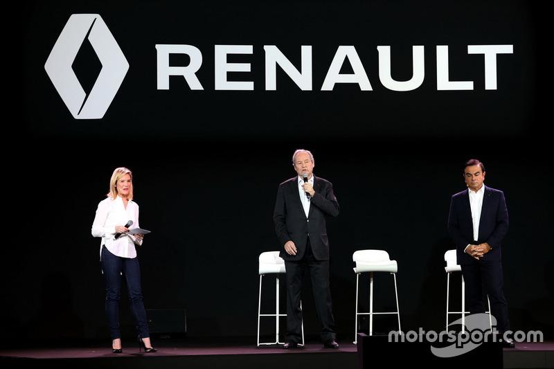 Жером Столль, Renault Sport F1 team president і президент Renault Карлос Гон