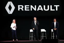 Jerome Stoll, Renault Sport F1 Teampräsident und Carlos Ghosn, Präsident Renault