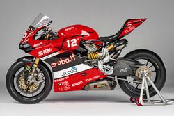 La moto di Michael Ruben Rinaldi, Aruba.it Ducati SuperStock 1000 Junior Team