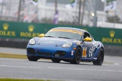 #8 Rebel Rock Racing Porsche Cayman: Robin Liddell, Elliott Skeer