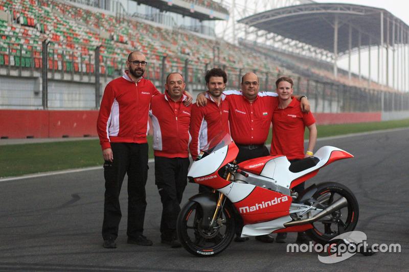 Danny Webb, Mahindra Racing, und Mufaddal Choonia, Geschäftsführer von Mahindra Racing