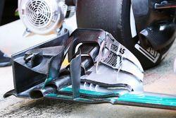 Nico Rosberg, Mercedes AMG F1, Frontflügel-Detail