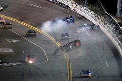 Crash: Christopher Bell, Kyle Busch Motorsports Toyota