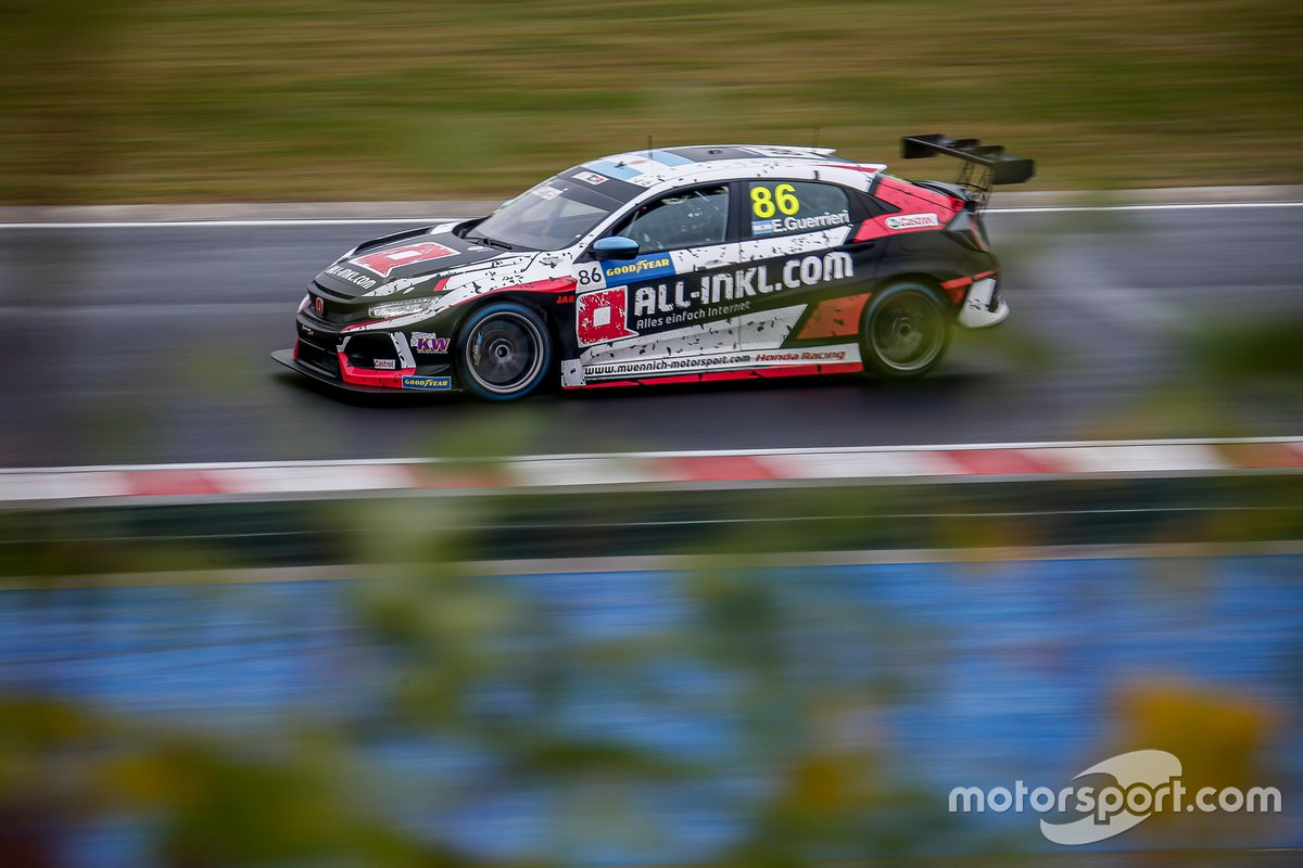 Esteban Guerrieri, ALL-INKL.COM Münnich Motorsport Honda Civic TCR