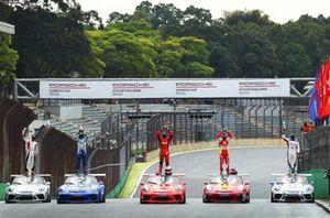 Pódio diferente na última etapa do Porsche Cup