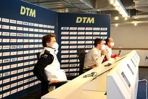 Persconferentie, Lucas Auer, BMW Team RMG, Robin Frijns, Audi Sport Team Abt Sportsline, Robert Kubica, Orlen Team ART